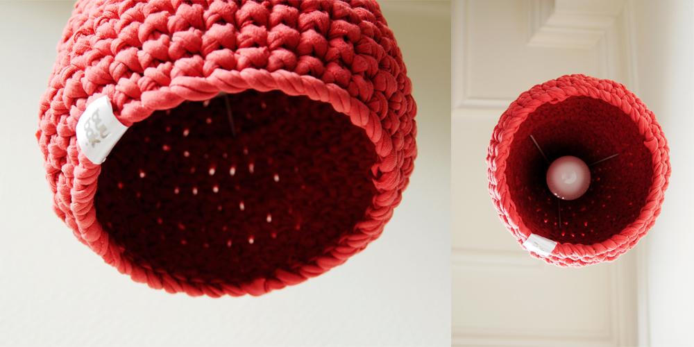 MUUNO – crochet pendant lamp